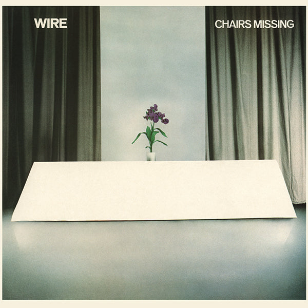 Wire - Chairs Missing LP Pinkflag - Stranded Records