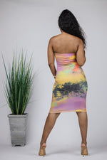 Sunset Tube Dress