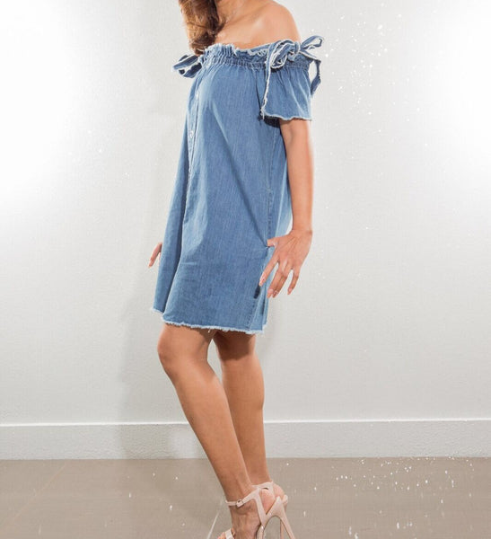 Demi Denim Dress