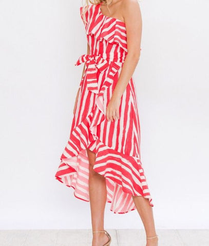 Kandi Stripe Dress