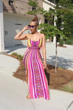 Cut It Out Maxi - Blush