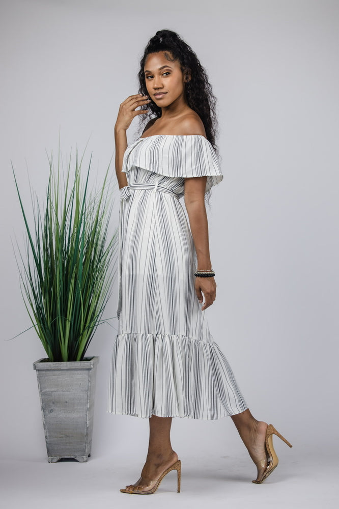 Brunch Please Stripe Dress