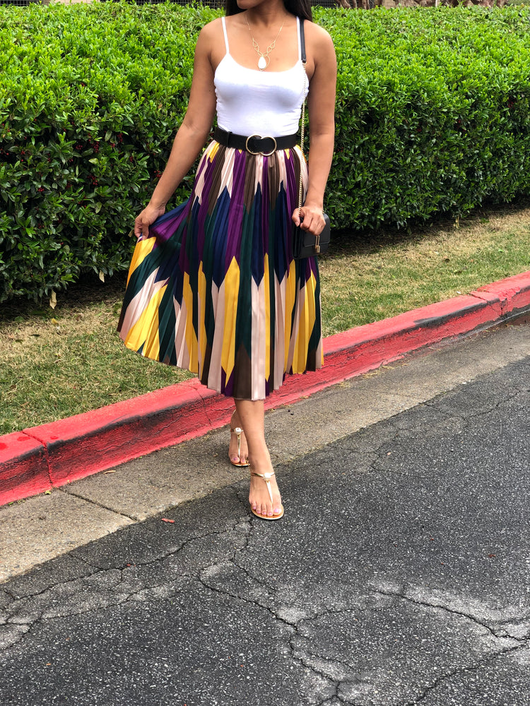Chevy Baby Pleated Skirt