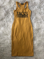 TAGS Racerback Midi Dress