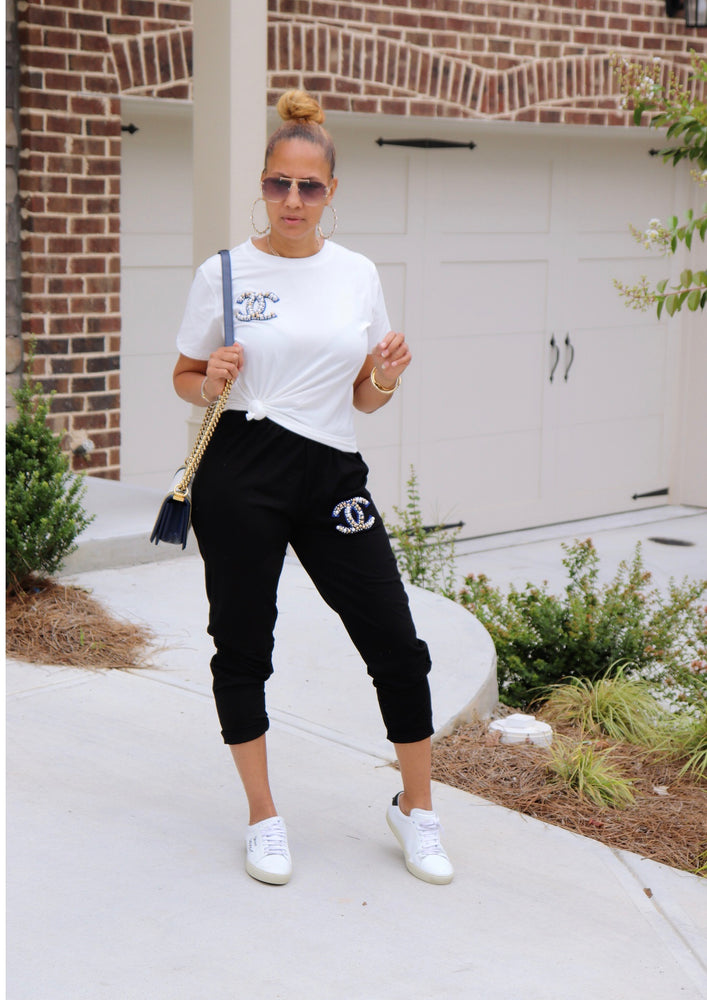 Not Chanel Jogger Set