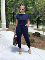 Nova Navy Jumpsuit