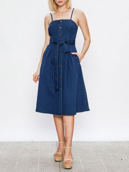 Don't Denim Your Light Dress