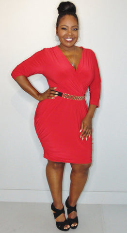 Lola Red Dress - FINAL SALE