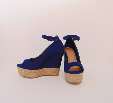 Azul Wedges - FINAL SALE