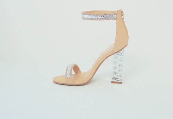 Crystal Heels - FINAL SALE