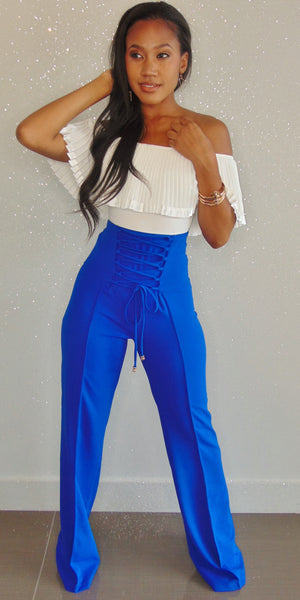 Tina Royal Blue Pants