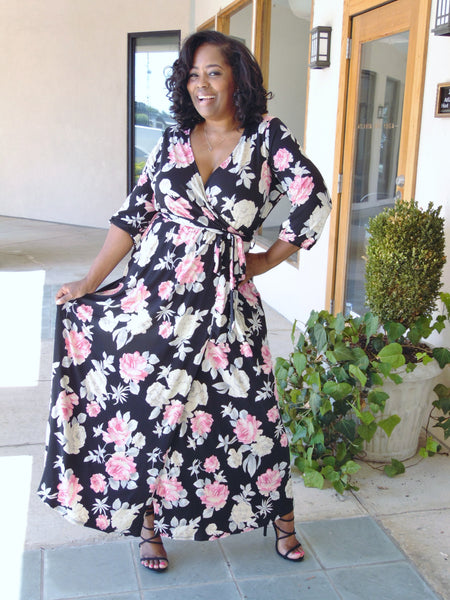 Jaslene Curvy Dress