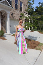Cut It Out Maxi - Teal
