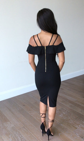 Tami Black Dress