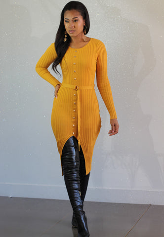 Lauryn Ribbed Dress