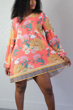 Honey Dew Floral Tunic