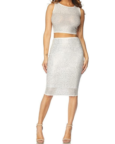 Shimmer Skirt Set - FINAL SALE