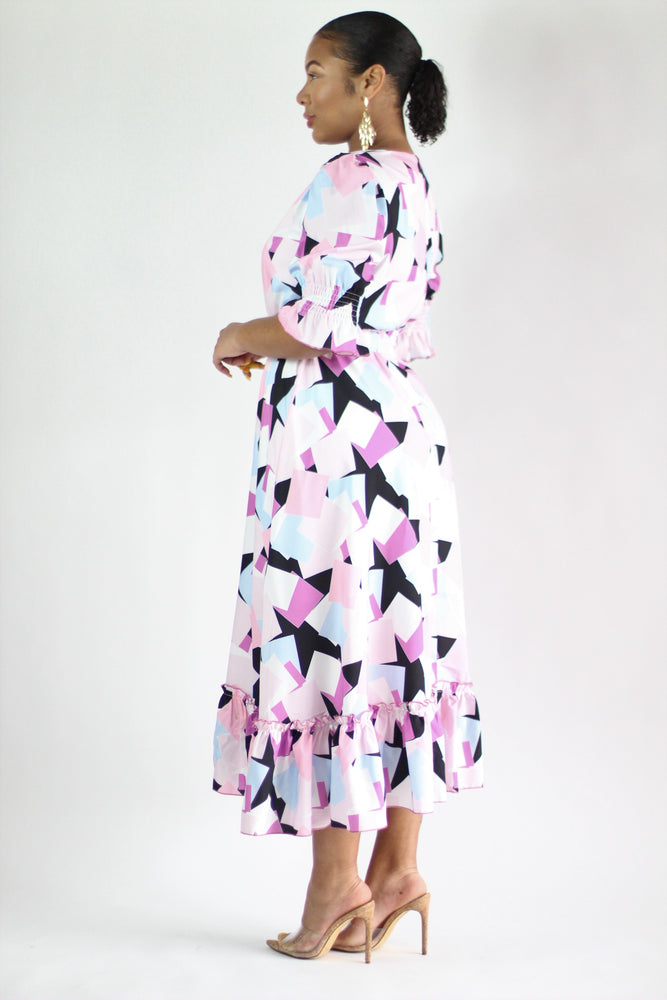 Kaleidoscope Maxi Dress