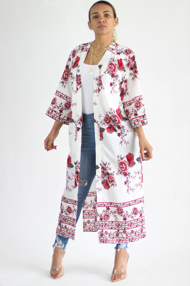 Francis Floral Duster