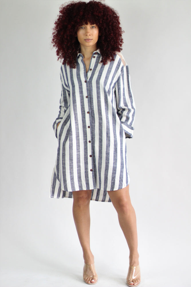 Queen Shirt Dress