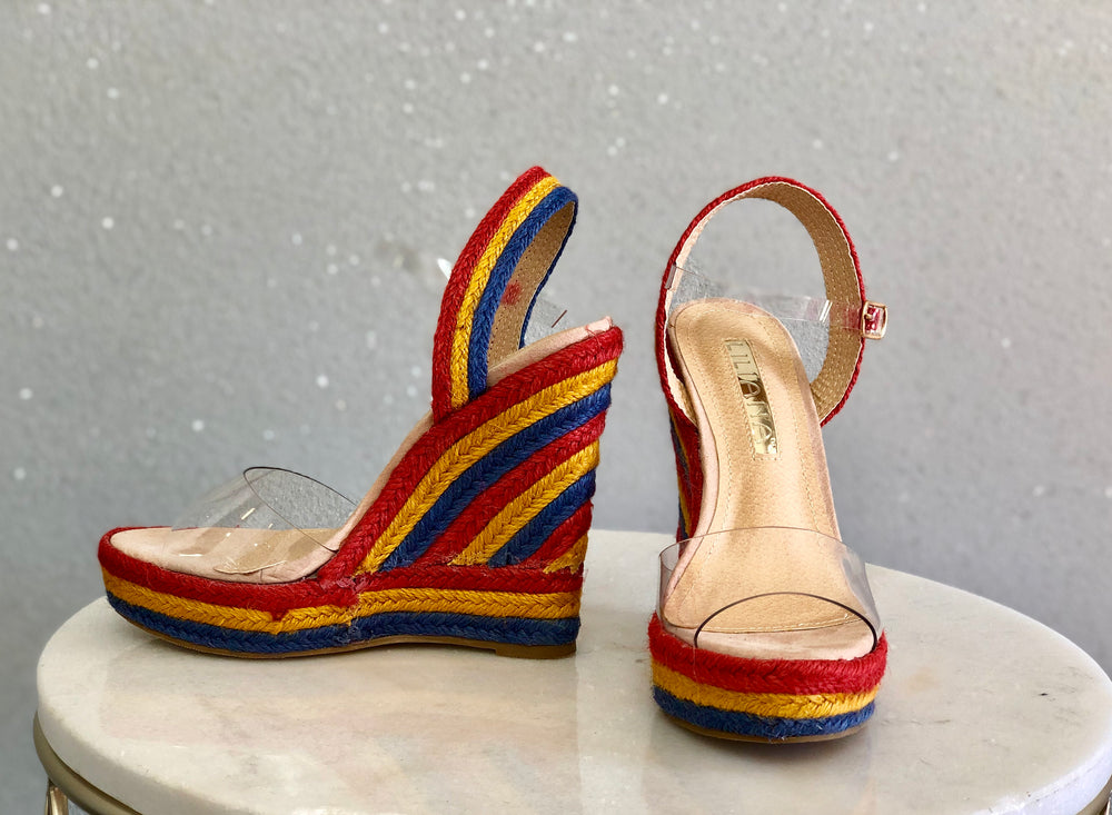 Kaleidoscope Wedge Heels