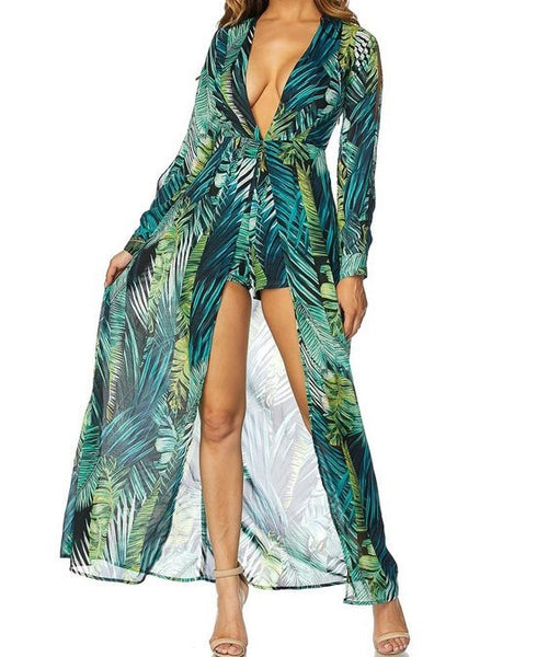 Camilla Forest Jumpsuit