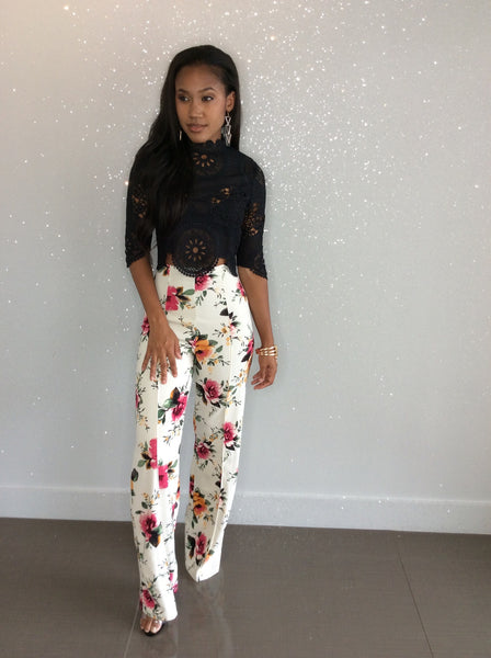 Florence Floral Pants