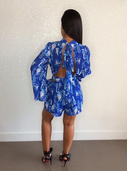 Midnight Blues Romper