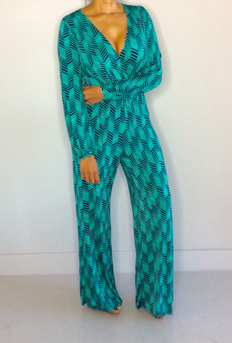 Diamond Lines Jumpsuit