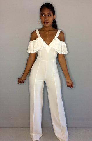 White Russian Jumpsuit
