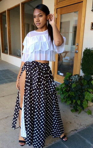 Ying Polka Dot Skirt