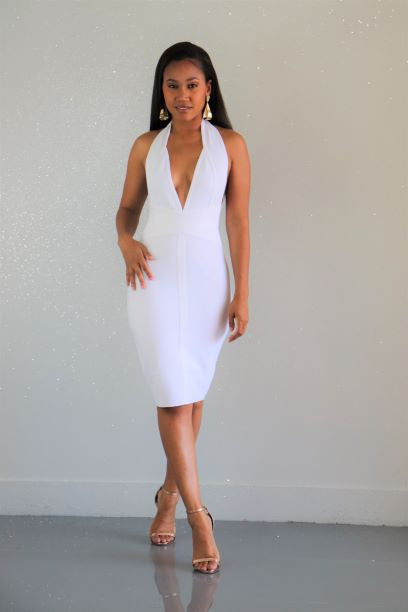 Straight No Chaser Midi Dress