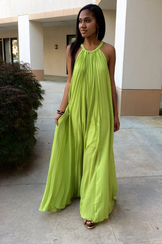 Nassau Pleated Maxi