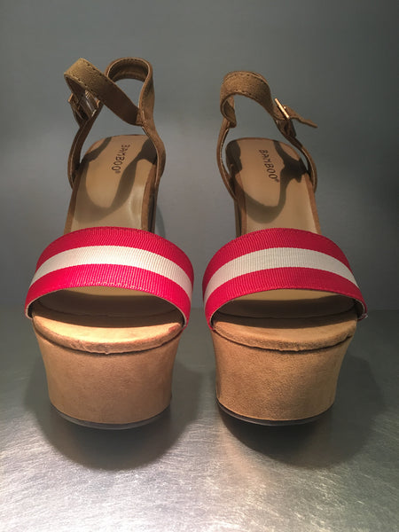 Red Label Block Heels