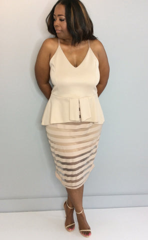 Marci Curvy Dress