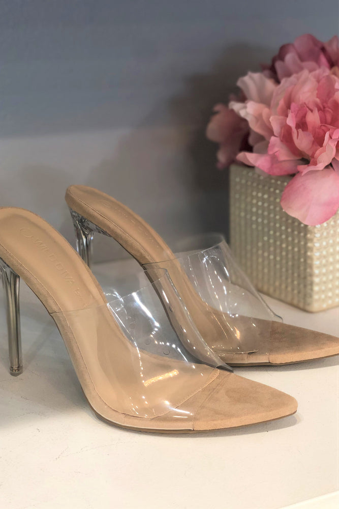 Glass Slipper Heels
