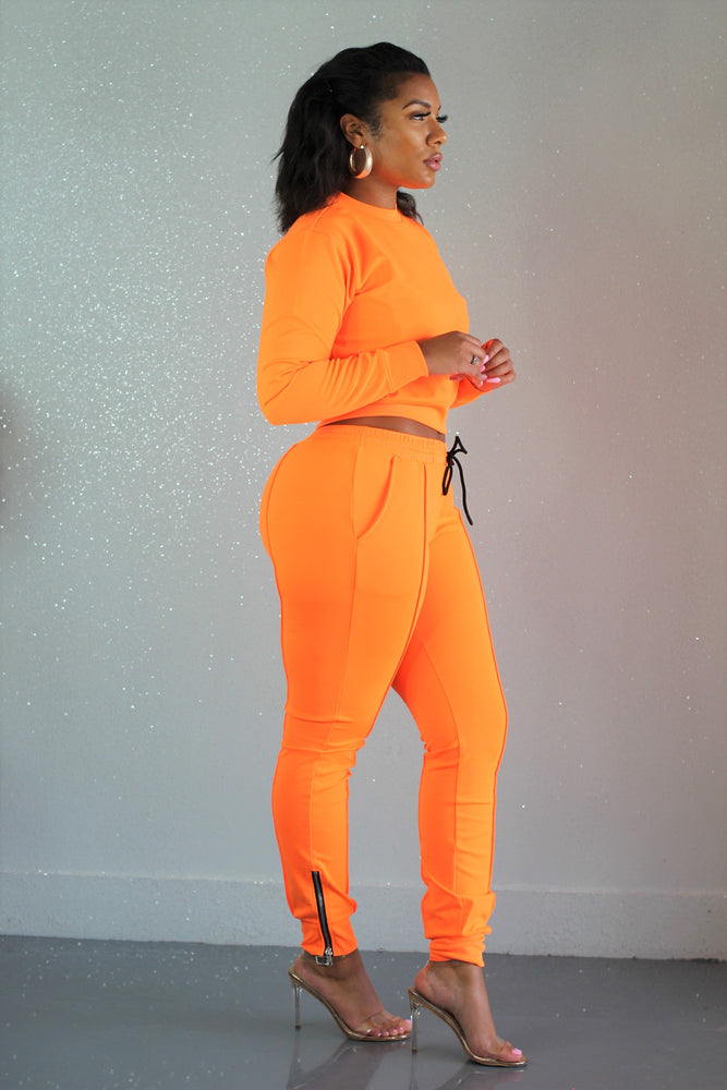 Orange Squeeze Drip Set