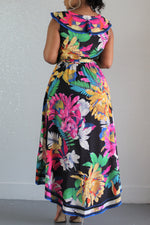 Tropical Breeze Wrap Dress