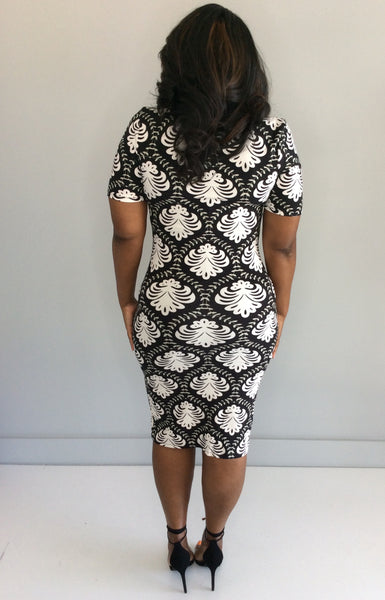 Honeycomb Curvy Dress