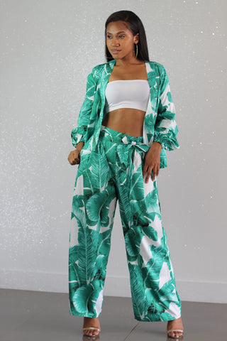 Belize Pants Set