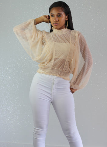 Polly Sheer Blouse