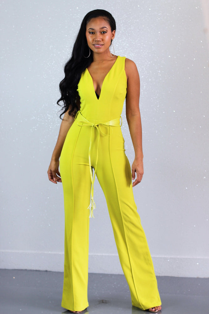 Lemon Grass Jumpsuit