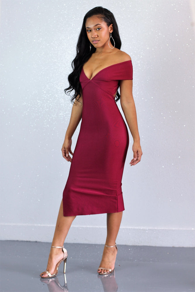 Wine And Dine Me Dress