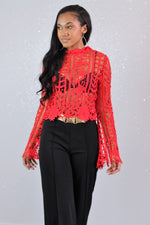 What Lace Blouse