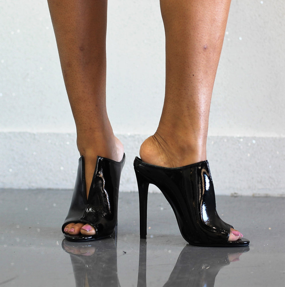 Karen Patent Pumps
