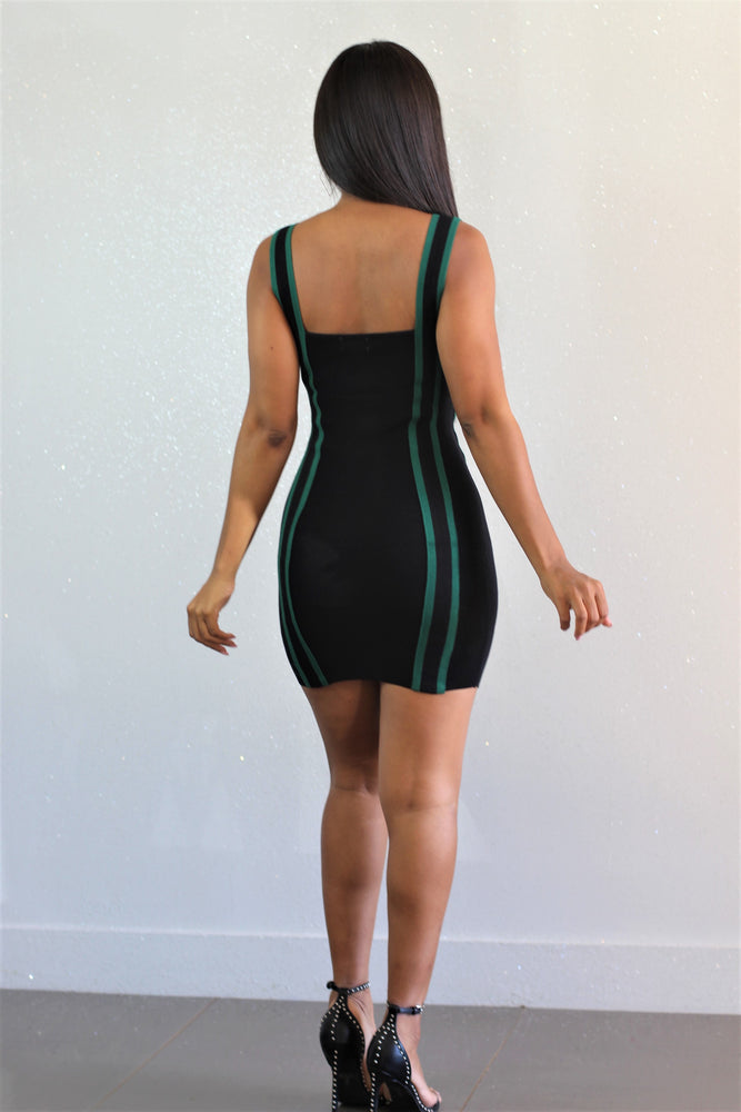 Green Streets Dress - FINAL SALE