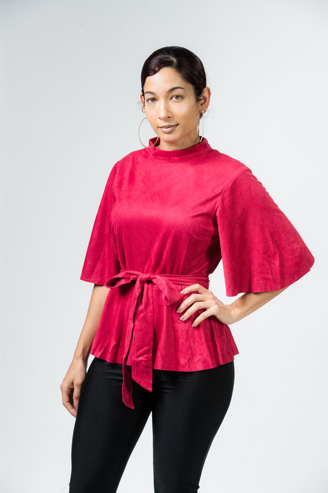 Red Dawn Blouse