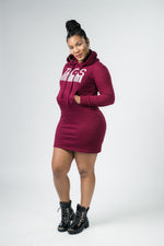 TAGS Cranberry Sweater Dress
