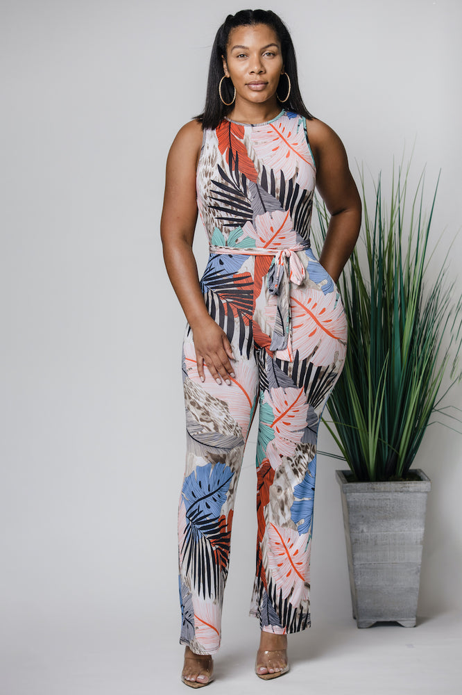 Under The Palm Sky Jumpsuit