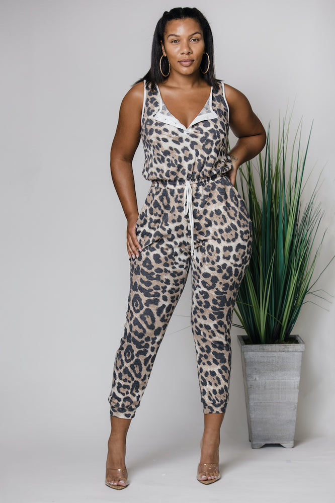 Step Into The Jungle Jumpsuit